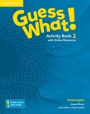 Guess What! Level 2 Activity Book with Online Resources - Pracovný zošit