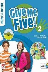 Give Me Five! 2 Pupil's Book with Navio App