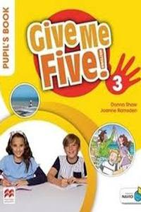 Give Me Five! 3 Pupil's Book with Navio App