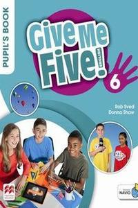 Give Me Five! 6 Pupil's Book with Navio App