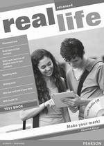 Real Life Advanced Test Book with Audio CD Pack