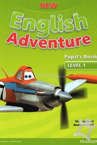 New English Adventure Level 1 Pupil's Book + DVD pack - učebnica