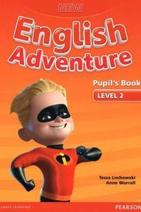 New English Adventure Level 2 Pupil's Book + DVD pack - učebnica