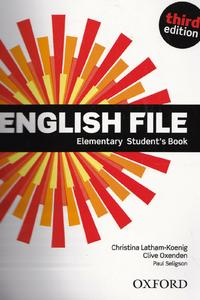 New English File 3ed.Elementary Student's Book 2019